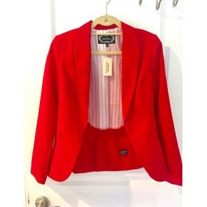 Forever 21 Red Business Jacket